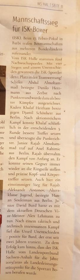 Wochenspiegel Halle 16.01.2019