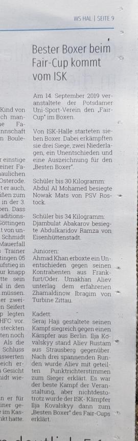 Wochenspiegel Halle 18.09.2019